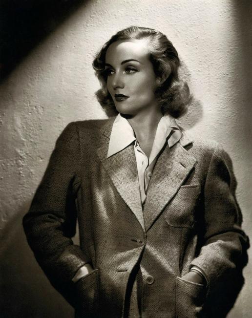 Carole Lombard suit