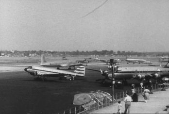 1940's airport