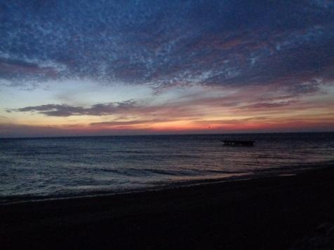 Sunrise last October